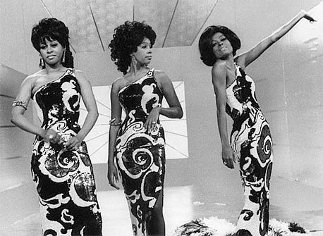 Ms. Charm's other decade is the 1960s. Inspired by, Diana Ross and The Supremes.
