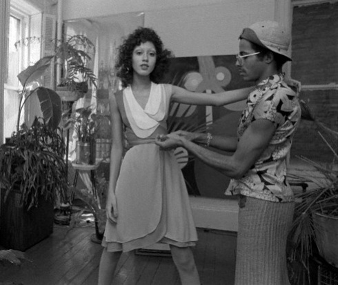 One of Ms. Charm fave decades is the 1970s. Inspired by model, Pat Cleveland.