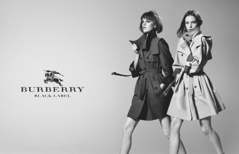 Burberry Black Label Spring Summer SS 2013 2014 AW FW Trench Mac Coat-2