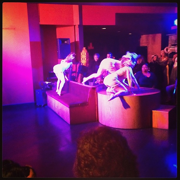 Deviated Theatre opening with a performance at Raw Awards 2013. (Photo by Paulette W).