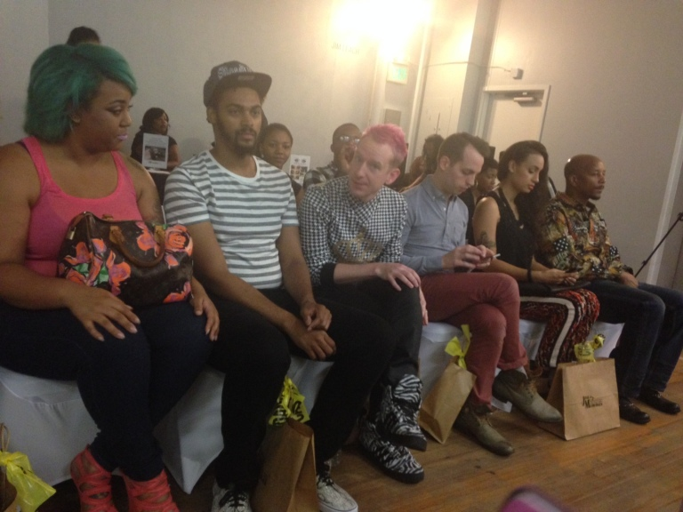 Crazy Good front row at the WERQROOM including Lana Rae, Giselle Melrose, Daniel of For Rent Shoes. :)