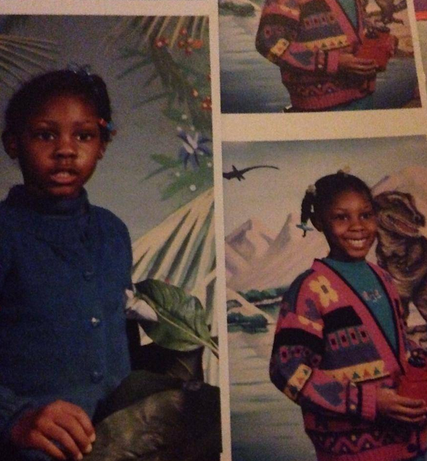 My own 90s sweater swag.